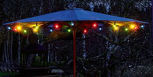 Klotlampa LED E14 Färgade